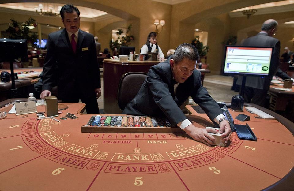 Casino Game Baccarat